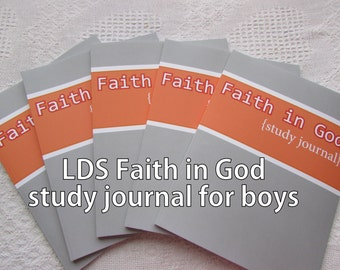Faith in God Study Journal {for boys}