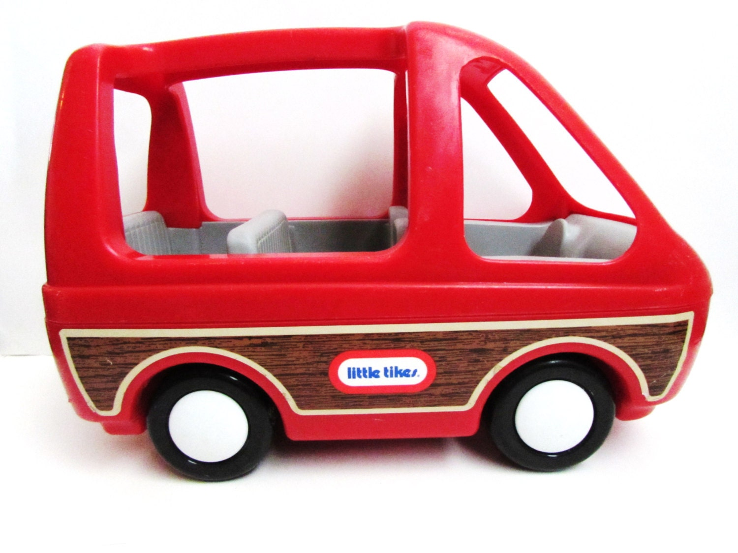 Little Tikes Dollhouse Vehicle Red Mini Van