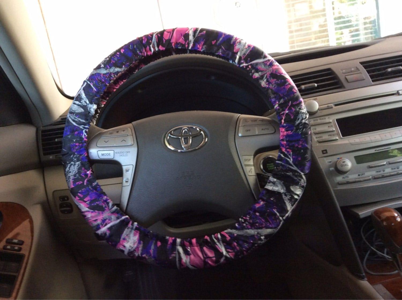 Muddy Girl Camo Steering Wheel Cover