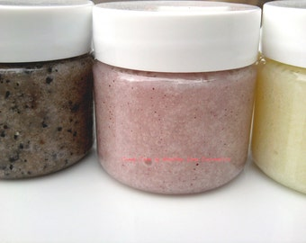 Sugar Lips Sugar Scrub  for Lips and Face Peppermint, Eco Friendly, Lip Exfoliant
