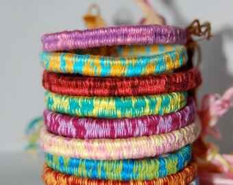 Wrapped Friendship Bracelets