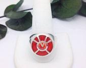 orange lantern ring inspired