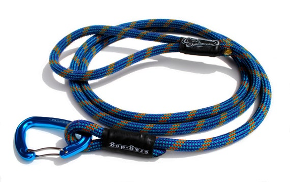 how to make a dog leash out of yarn