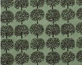 The Ghastlies - A Ghastlie Forest Alexander Henry 100% Cotton Fabric Green Headstone