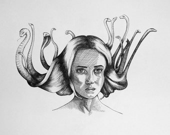 ORIGINAL ARTWORK - MEDUSA #7