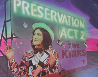 The Kinks - Preservation Act 2 - 2 x vinyl record