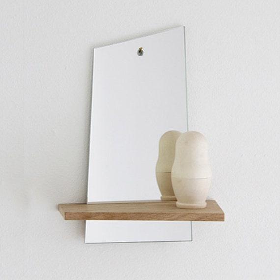 Shelf with mirror for Mirror with shelf
