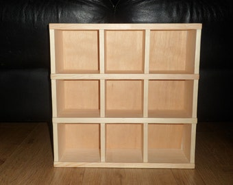 Small Pigeon Hole Cubby Display Unit