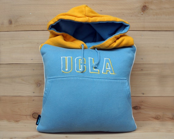 15x15 Throw Pillow Cover : UCLA hoodie throw pillow cover 15x15