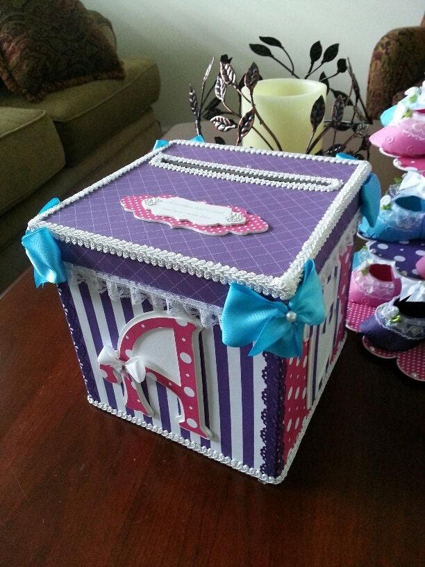 baby shower money card box shower gift card box baby