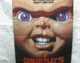 Child's Play 3 1991 Movie Poster mp114