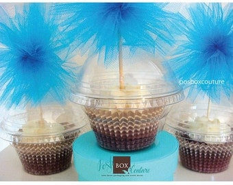 Cupcake Favor Boxes set of 80