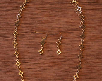Star Link Necklace, J Crew Inspired