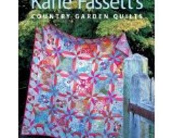 COUNTRY GARDEN QUILTS  Quilt Pattern Book by Kaffe Fassett Collectives