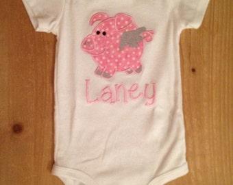 Flying Pig Shirt or Baby Bodysuit