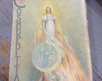 Antique March 1896 Cosmopolitan Magazine Vol XX