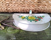 Butlers Tray || Hand Painted || Tole Painted || Table Crumb Collector