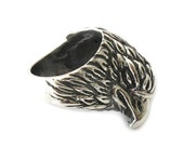 Eagle Silver Ring | Eagle Ring | Bird Rings | Handmade on demand | 20 GRAMS Ring | Handcrafted | Sterling Silver Rings Shop | CC035 8