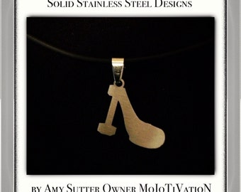 STEELetto Stainless Steel Charm