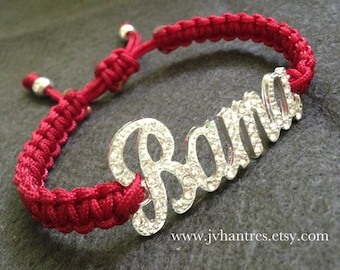 Alabama Crimson Tide Football Game Day Bracelet - you choose qty