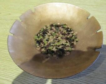 MCM Funky Confetti Copper Dish