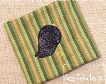 Crow or Black Bird 35 Applique Design
