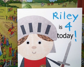 Norman Knight Greeting Card