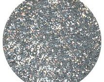 Disco Dust ~ 5 Grams ~ * AMERICAN SILVER * Cake Cupcake Cookie Candy Decorations - Fondant - Non Toxic - Glitter - Sparkle - Frozen