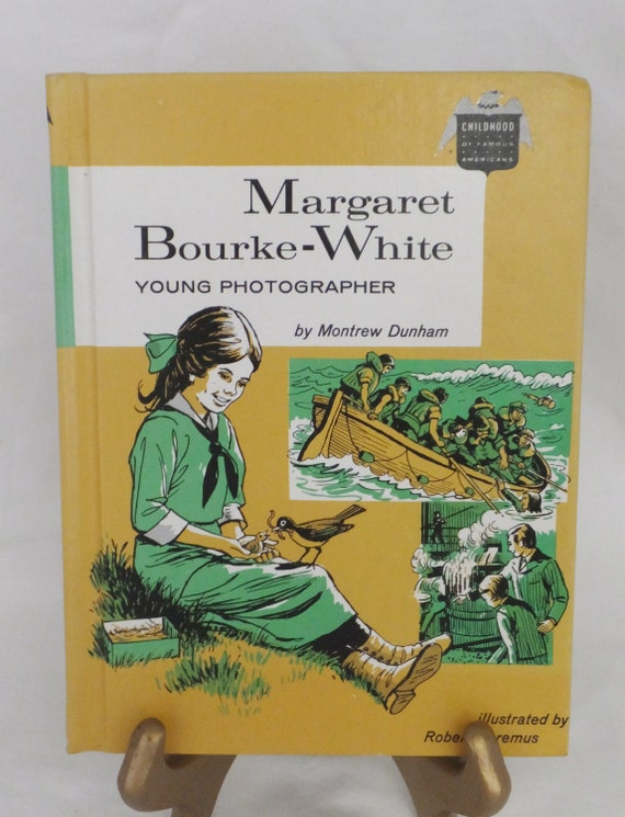 FREE SHIPPING - Margaret Bourke-White - Young Photographer by Montrew Dunham Bobbs-Merrill Co.