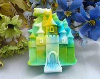 Soap Mold Soap Mould Silicon Mold Candle Mold Resin Mold Castle