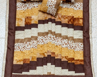 Brown Stream quilt BJD MSD 1/4