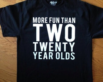 40th 50th Birthday Party T-Shirt Size S M L XL