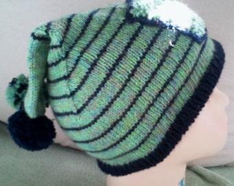 Beanie - knitted - handmade - 20005