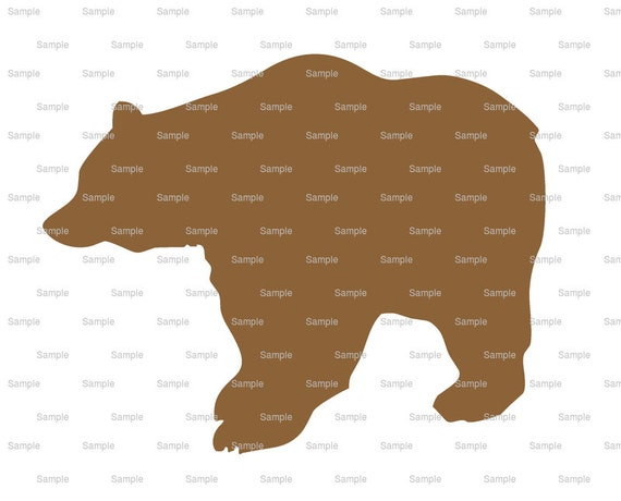 Brown Bear Birthday - Edible Cake and Cupcake Topper For Birthday's and Parties! - D3960