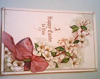 1919 EASTER Postcard Embossed