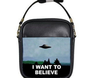 Believe in something sling bag