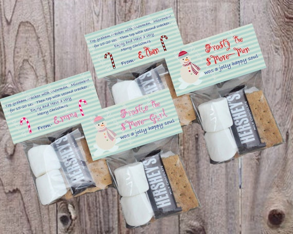 DIY Holiday Frosty the Snowman/Snowgirl Smore by ...