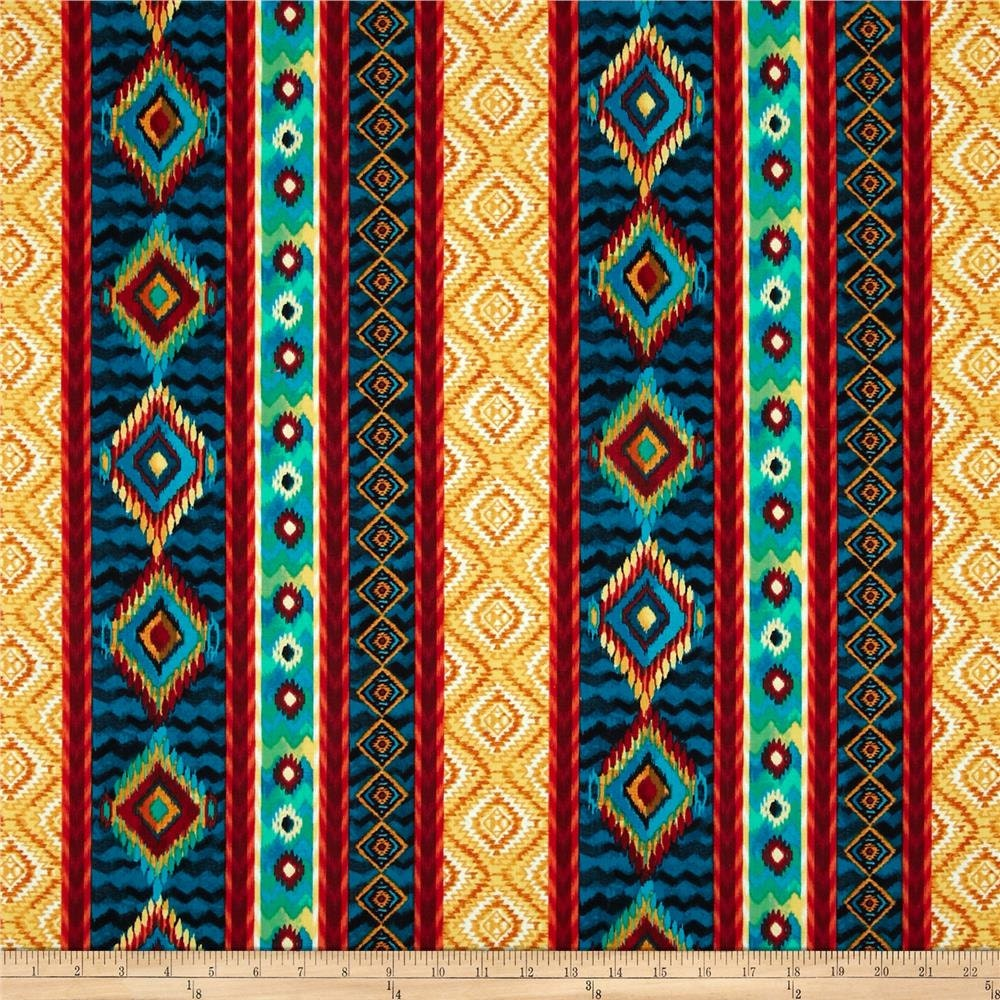 Timeless Treasures Novelties Tribal print Fabric sold per Fat