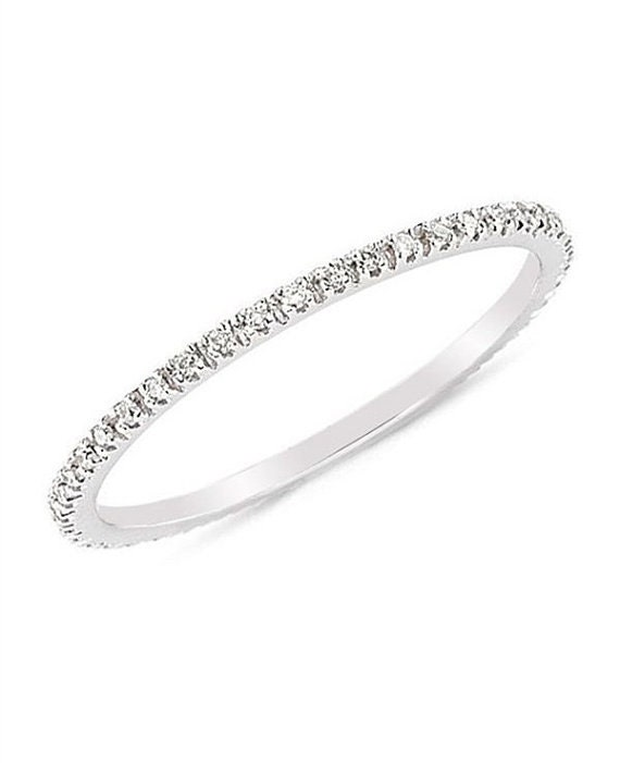Full Eternity Ring Gold Ring Cheap Wedding Ring