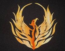 Phoenix Rising 2 Quilt Applique Pattern Design