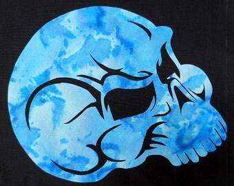 Crystal Skull Quilt Applique Pattern Design