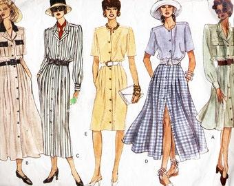 Vogue Sewing Pattern 1147 Dress  Size:  14-16-18