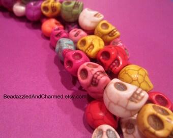 Skull Skeleton Beads QTY 10!