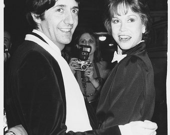 """Vintage Original photograph Mary Tyler Moore & Tom Conti- New York -  """"Whose Life Is It Life"""" - dated: 2/26/80 - Broadway - Theater"""