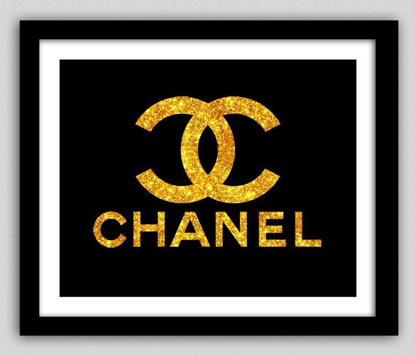Smart image in printable chanel logo