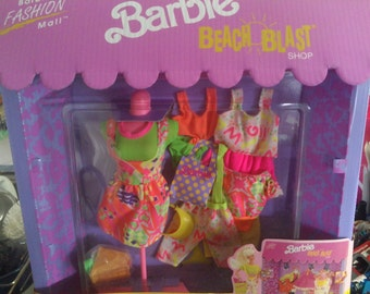 BARBIE Beach Blast Fashion Mall Shop 1991 issue