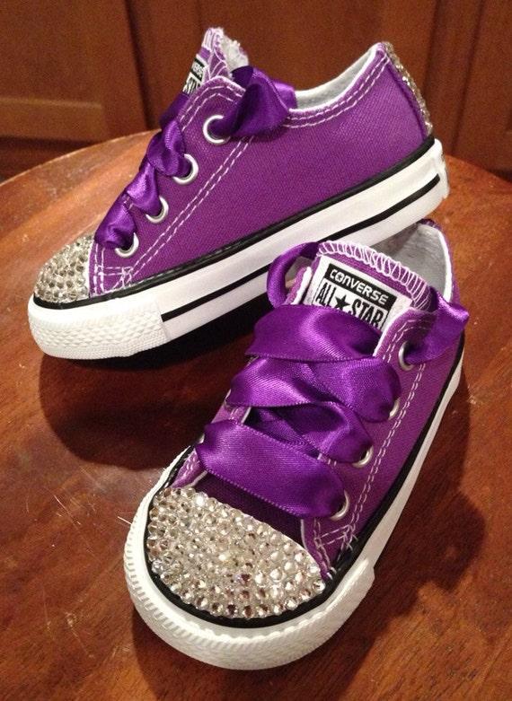 Purple Nike Canvas Shoes