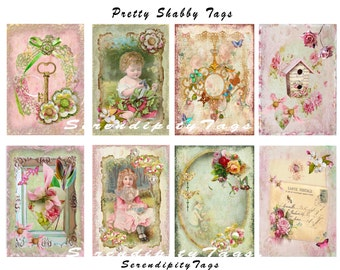 Pretty Shabby Tags