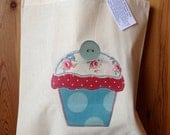 Cupcake Shopper Bag