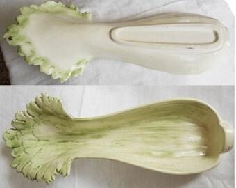 Vintage Celery Serving Dish